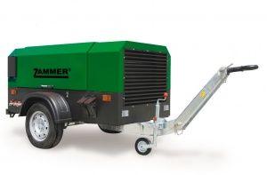 Дизельный компрессор Zammer 3.1/07-S  (на раме) за 748 414 руб